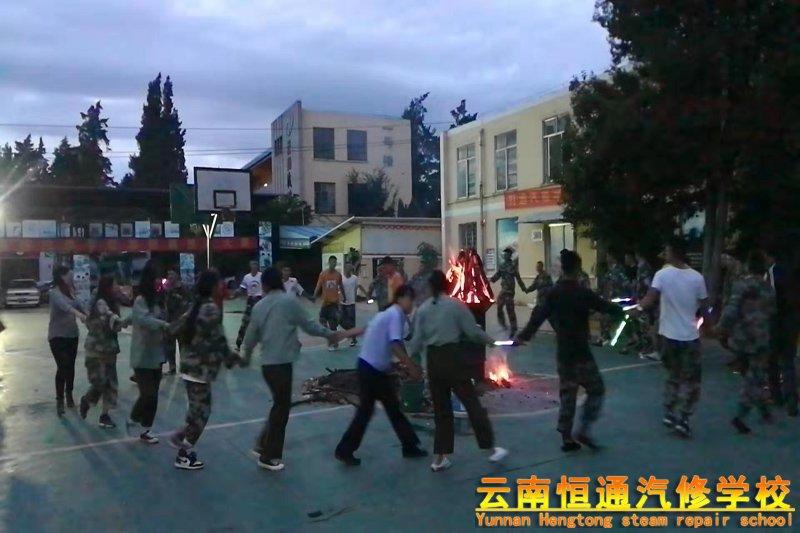 """云南恒通汽修学校陪您一起欢度七月""""火把节"""""""