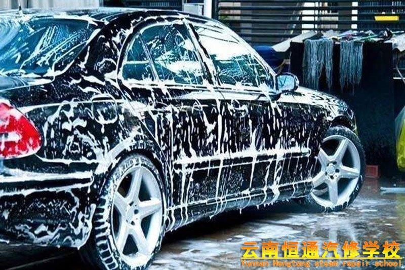 学习汽车美容,为什么要从洗车开始?