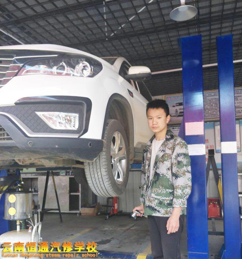 【方赛文】我来到云南恒通汽修学校的变化
